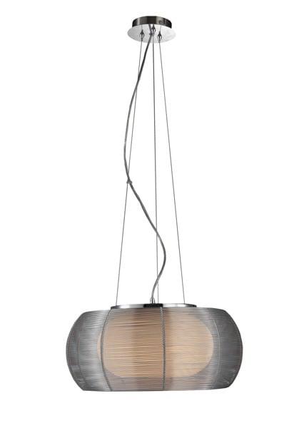 LAMPĂ INTERIOR (ÎNGRIJIRE) ZUMA LINE TANGO PENDANT MD1104-2 (argint) - Argint