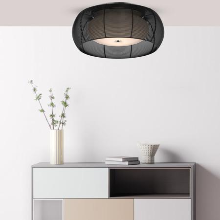 LAMPĂ INTERIOR (CEILING) ZUMA LINE TANGO CEILING MX1104-2L (negru)