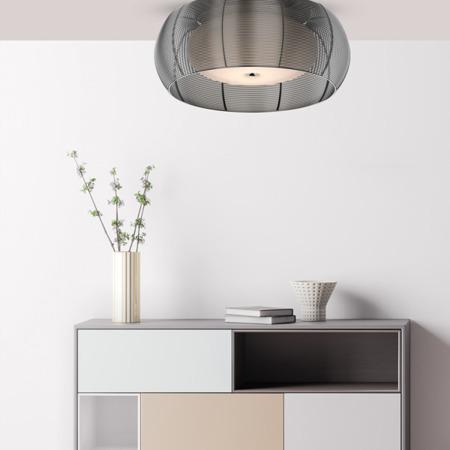 LAMPĂ INTERIOR (CEILING) ZUMA LINE TANGO CEILING MX1104-2L (argintiu) - Argint
