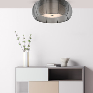 LAMPĂ INTERIOR (CEILING) ZUMA LINE TANGO CEILING MX1104-2L (argintiu) - Argint small 2