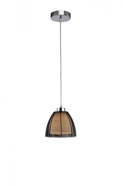 LAMPĂ INTERIOR (ÎNTRÂND) ZUMA LINE PICO PENDANT MD9023-1S (negru)