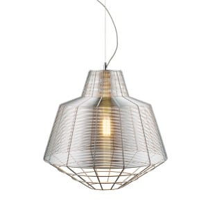 LAMPĂ INTERIOR (ÎNGRIJIRE) ZUMA LINIE PENDANT PĂNĂTOR MD1712-1L-Argintiu small 1
