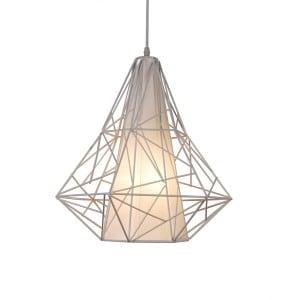 LAMPĂ INTERIOR (ÎNTRÂND) ZENDĂ LINIE PENDANT SKELETON HP1335-WH (alb) small 0