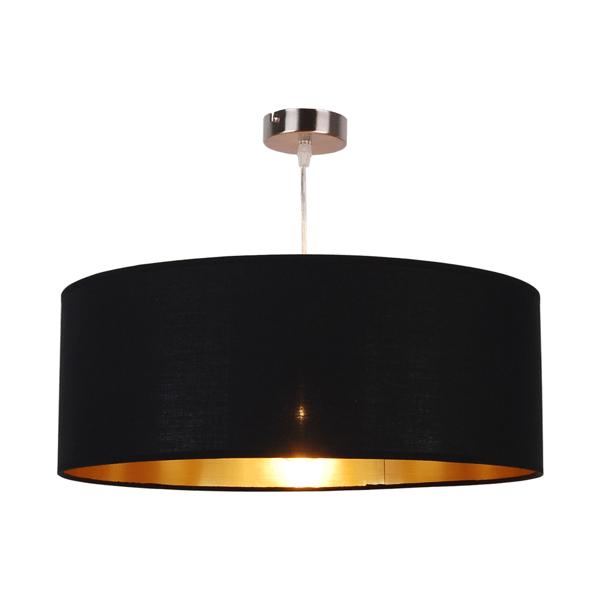 LAMPĂ INTERIOR (ÎNCĂLZARE) LINIE DE ZUMĂ ANDREA PENDANT HP1392-500-BL + PB