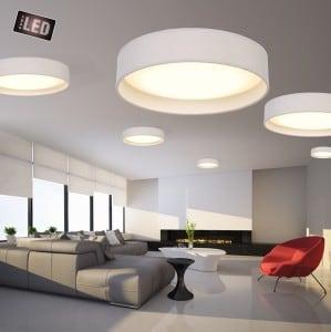 LAMPĂ INTERIOR (CEILING) ZUMA LINE ADEM CEILING E9371-37-LED-GR (gri) small 1