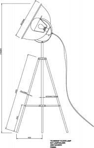 LAMPĂ INTERIOR (PISIU) ZUMA LINE ANTENNE PISOARE TS-090522F-BKSI (argintiu) small 2