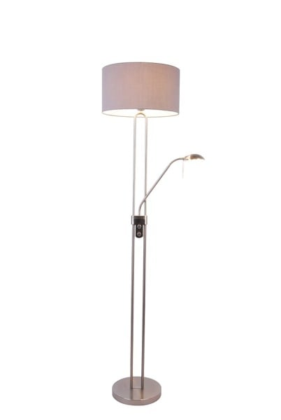 LAMPĂ INTERIOR (PISIU) ZUMA LINE PEDRO FLOOR SL570-2-SS + GR