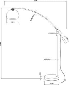 LAMPĂ INTERIOR (PIERTURI) ZUMA LINE MANHATTAN PIERE TS-061121M small 1
