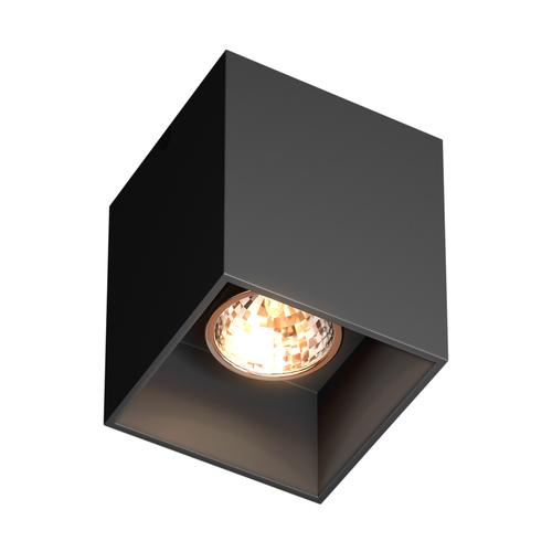 H 50475 Bk Square Spot Black / Black