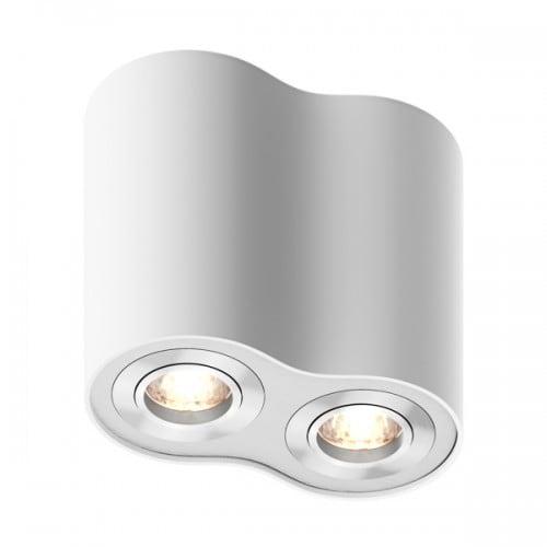 Lampa wewnetrzna spot zuma line rondoo spot 50407 wh white bialy l