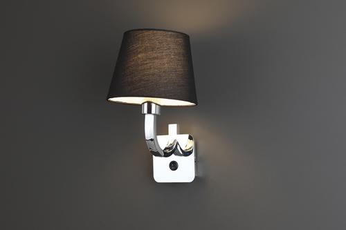 DENVER lampă de perete BK