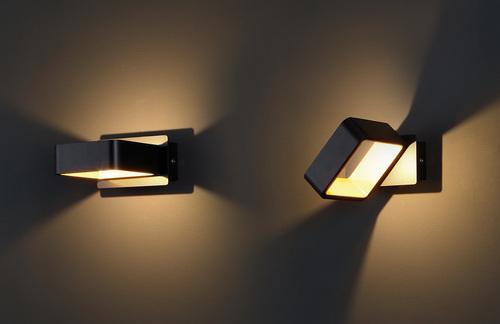 Lampă de perete Tokyo II negru
