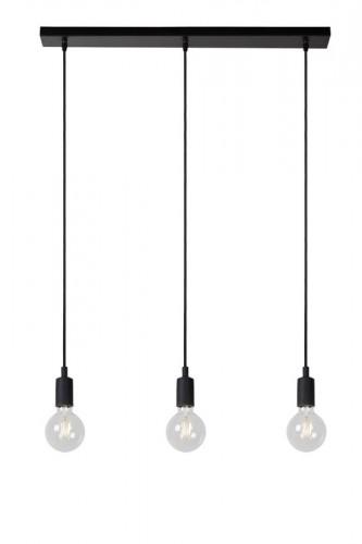 Lampa suspendată industrial lucide FIX negru