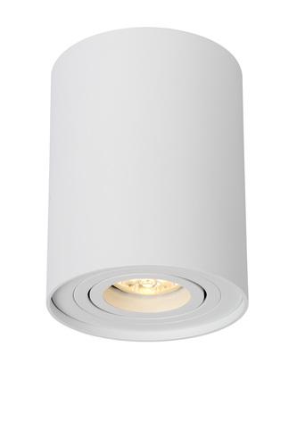 Lampa sub formă de tub Ø 9,6 cm alb