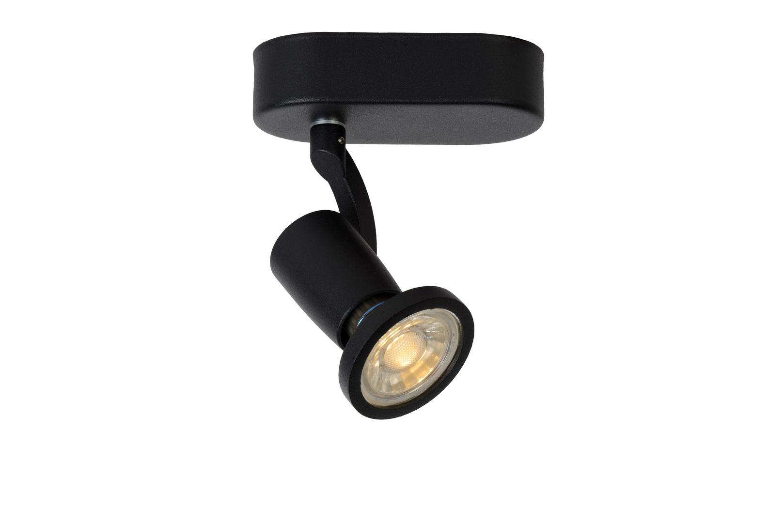 Lampă de perete STER negru GU10
