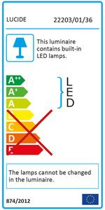 Lucide ZORA-LED 22860/05/30 lampă de perete cub exterior small 3
