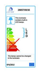 Aplica de exterior GIO LED negru small 2