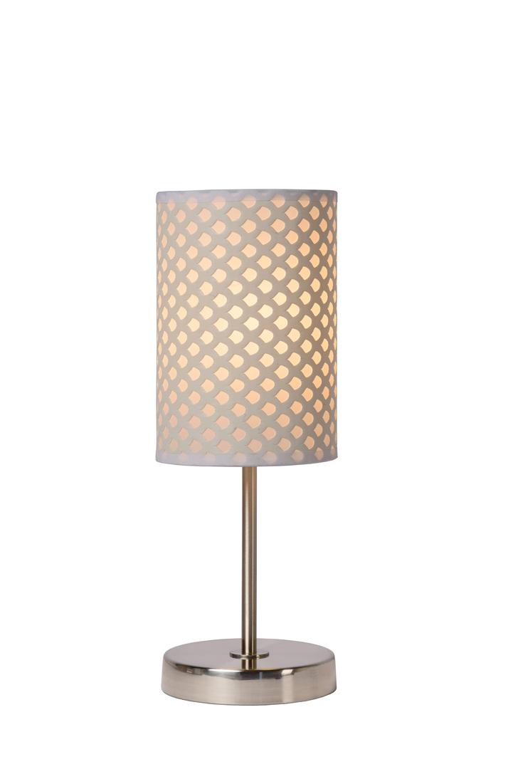 Lampa de masă MODNA alb E27