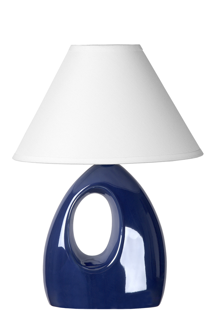 Lampa de masă HOLLY blue E14