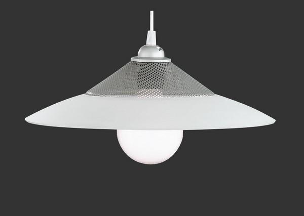 Lampa suspendată SOFI alb antracit E27