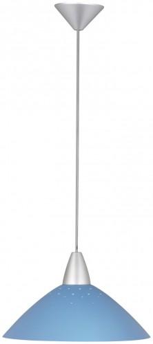 LOGO O lampă cu pandantiv albastru