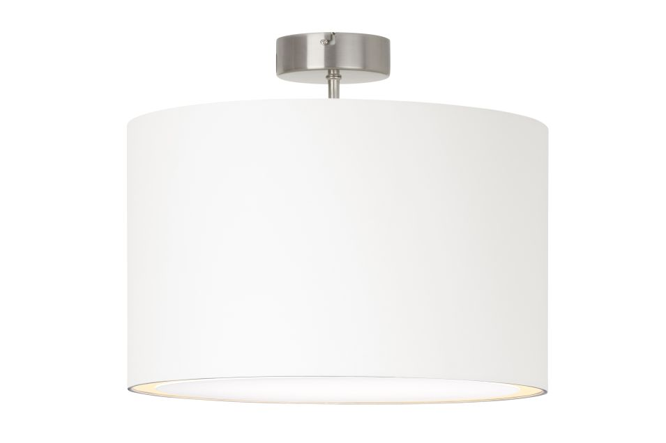 CLARIE Lampa de tavan alba