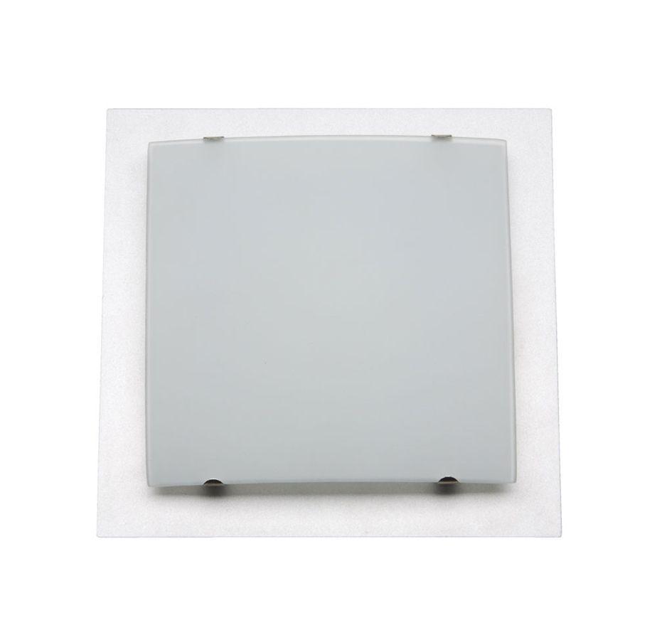 SQUARE Plafon gri (pătrat 190 mm)