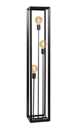 Lampa de podea în trei puncte THUNDER fier E27