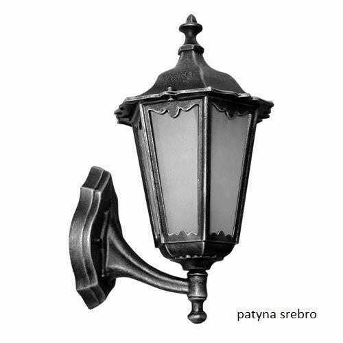 Lampă de perete retro unică, clasică, neagră, clasică, cu sticlă