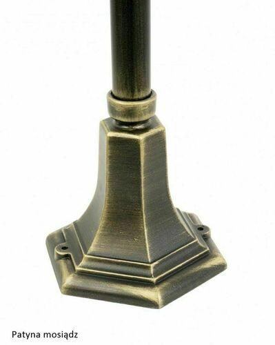 Lampa de grădină Retro Classic K 5002/3 (87 cm) Negru vintage