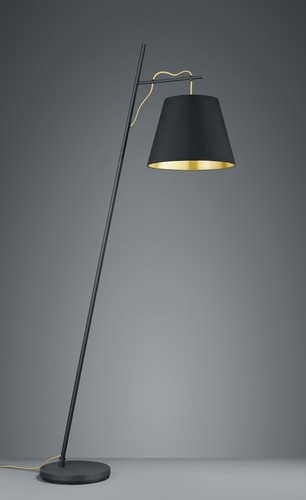 Lampa de picioare ANDREUS, negru / auriu