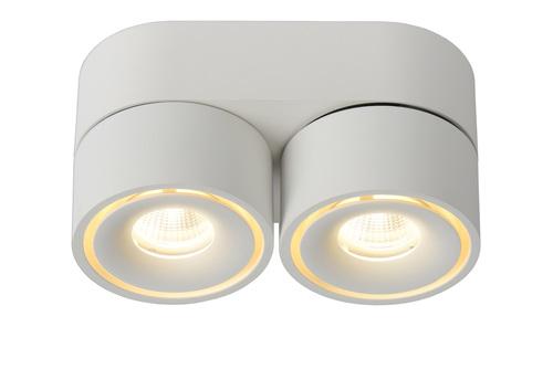 Spot pentru tavan MIKO LED alb din aluminiu