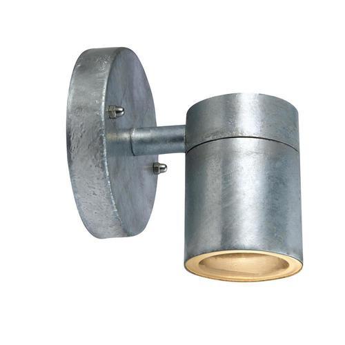 DAN Lampă de perete 1L zincat
