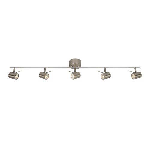 HYSSNA LED Plafon 5L Oțel