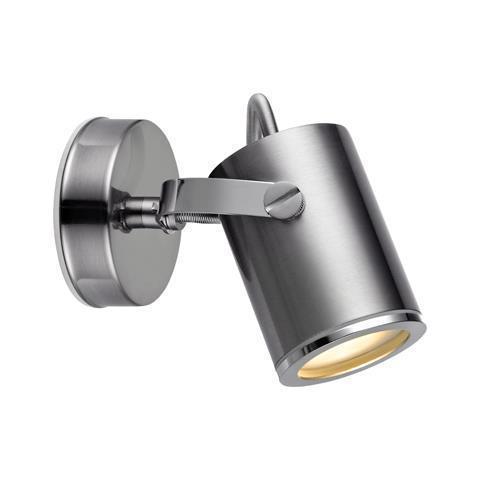 LUX Lampă de perete Spot 1L IP44 Oțel