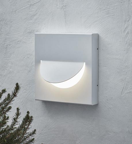 Zâmbet lampă albă