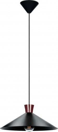 Lampa metalică cu mansardă