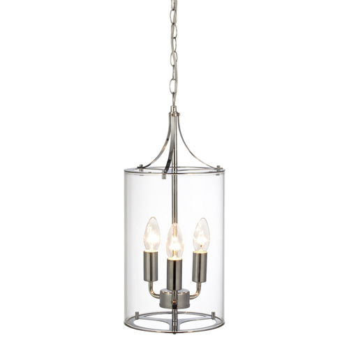 VINGA Hanging 3L Chrome / Transparent