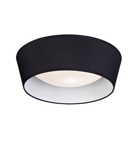 VITO Plafon 36,5cm Negru
