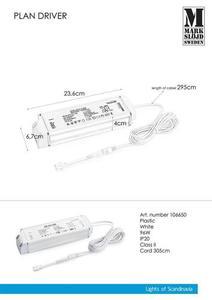 Adaptor CA de 96 W (pentru PLAN) Alb small 0