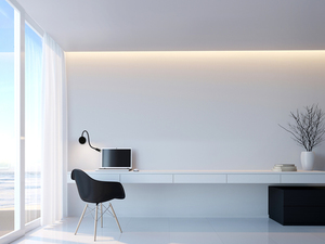 Senise lampă de perete neagră small 0