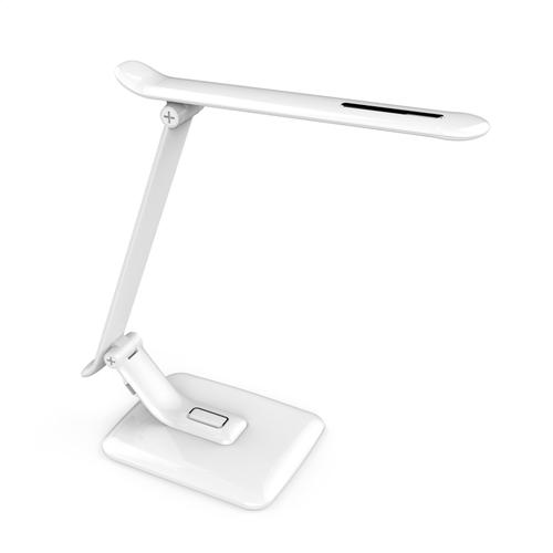 Lampa de masă albă PIXI 12W + USB