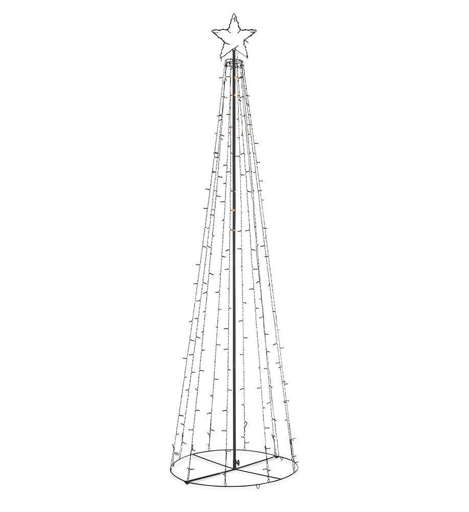Arbore de Crăciun în aer liber TORN LED de 250 cm