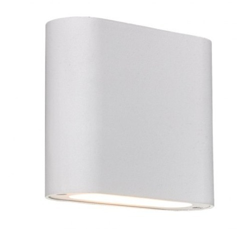 Lampă de perete albă Sapri