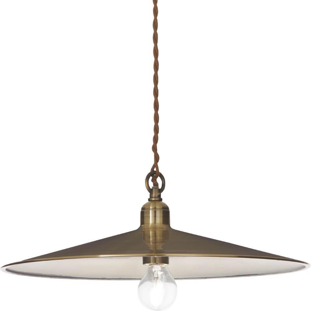 Lampa cu pandantiv Valeria maro