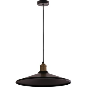 Lampă cu pandantiv din metal negru Elaine small 1