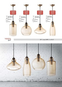 Ambre Lampă cu pandantiv Grace Glass small 0