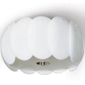 Lampă cu pandantiv alb Audrey small 0