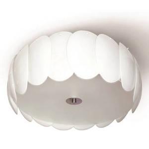 Lampă albă de plafon Doris tavan small 0