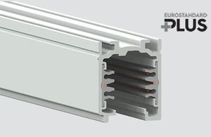 Bara de bare EUROSTANDARD PLUS lungime 200cm (RAL 9010) alb small 0